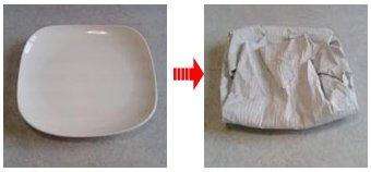 中皿の梱包方法