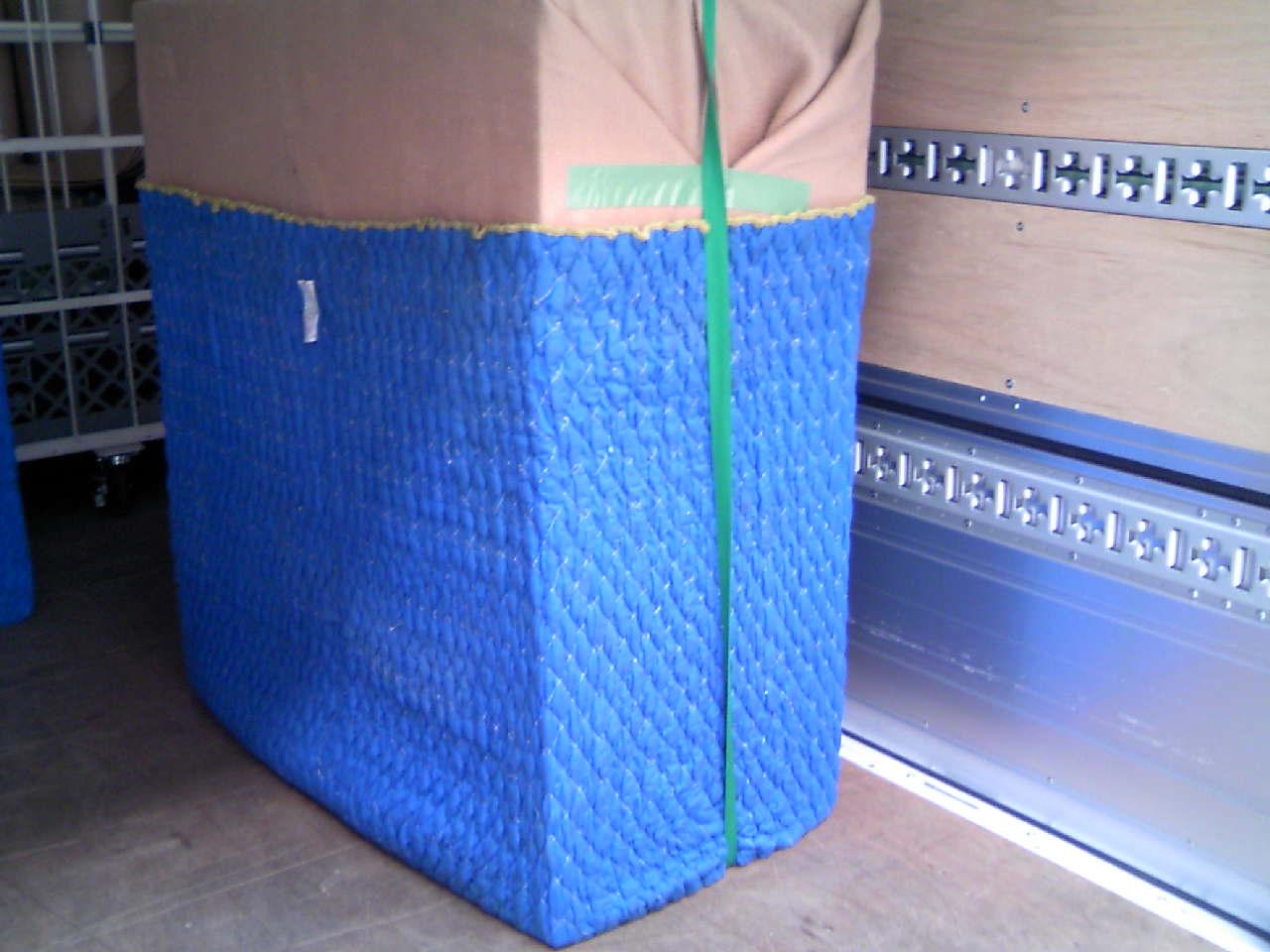 家具の梱包例
